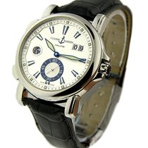 Ulysse Nardin 243-55/91 GMT Big Date Dual Time in Steel - on...