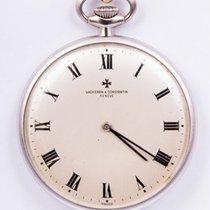 Vacheron Constantin - a superb pocket watch in 18 kt white...