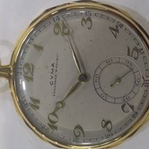 Cyma 18 kt Gold Pocket watch