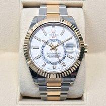 Rolex Sky-Dweller Gold/Steel White Dial LC-EU