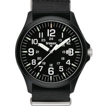 Traser 42mm Quartz new Black