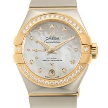 Omega Constellation Petite Seconde neu 27mm Gold/Stahl