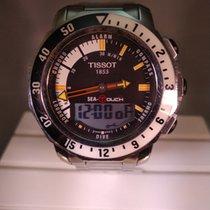 Tissot Sea-Touch Zeljezo Crn Bez brojeva