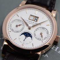 A. Lange & Söhne Saxonia Rose gold 38.5mm Silver No numerals United States of America, Texas, Houston
