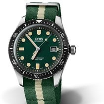 Oris Divers Sixty Five Steel 42mm Green United States of America, Georgia