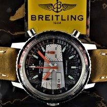 Breitling Chronograaf 39mm Automatisch 1969 tweedehands Chrono-Matic (submodel) Zwart