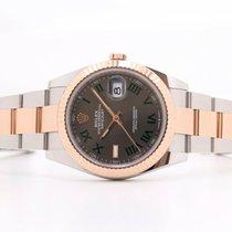 Rolex Datejust II Gold/Steel 41mm Grey No numerals United Kingdom, Oxford