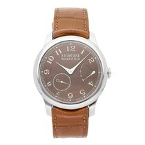 F.P.Journe 40mm Manual winding pre-owned Souveraine Brown