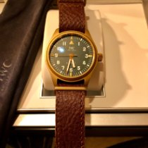 IWC Pilot's Watch Automatic 36 Brons 36mm Groen Arabisch