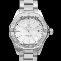 TAG Heuer Steel Quartz Mother of pearl 35mm new Aquaracer Lady