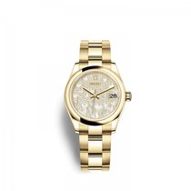 Rolex Yellow gold Automatic 31mm new Lady-Datejust