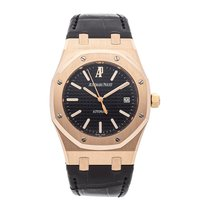 Audemars Piguet Royal Oak Selfwinding Rose gold 39mm Black No numerals United States of America, Pennsylvania, Bala Cynwyd