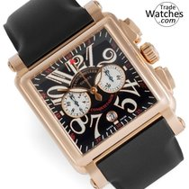 Franck Muller new Automatic 45mm Rose gold Sapphire Glass