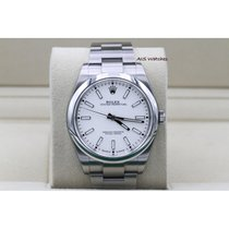 Rolex Oyster Perpetual 39 pre-owned 39mm White
