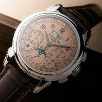 Patek Philippe Perpetual Calendar Chronograph 5270P-001 Неношеные Платина 41mm Механические