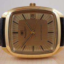 IWC Жёлтое золото 36mm Кварцевые 3203 подержанные