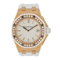 Audemars Piguet AP Offshore Lady 37 Rose Gold Diamond Bezel