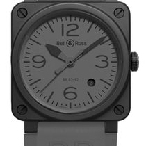 Bell & Ross Ceramic 42mm Automatic BR 03-92 Ceramic new United States of America, New York, Airmont