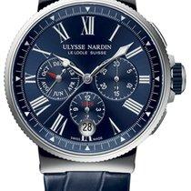 Ulysse Nardin 1533-150/43 Stahl 2021 Marine Chronograph 43mm neu