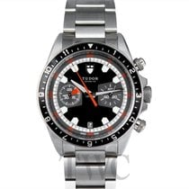 Tudor Heritage Chrono Steel 42.00mm Black