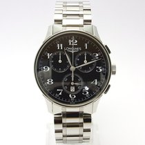 Longines heritage chronograph mens L2.649.4 Black Edition