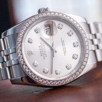 Rolex Ladies' Datejust 36 Steel/Diamonds