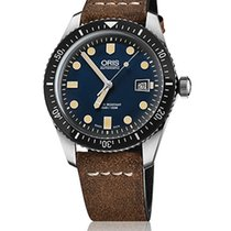 Oris Divers Sixty Five new Automatic Watch with original box and original papers 01 733 7720 4055-07 5 21 02