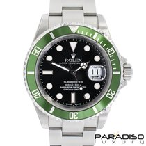 Rolex Submariner 16610LV Fat four Mk I REAL N.O.S. ITALIAN