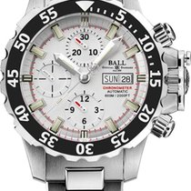 Ball Engineer Hydrocarbon Nedu new Automatic Chronograph Watch only DC3026A-SC-WH