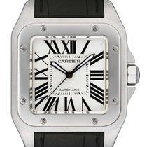 Cartier Santos 100 Large Steel  W20073X8