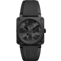 Bell & Ross BR 03 BR 03-92 Black Camo Watch, 42mm
