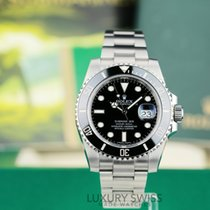 Rolex Submariner Date Steel Black dial Black Insert- Papers& Box