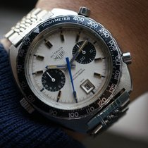 Heuer Chronograph 42mm Automatic pre-owned White