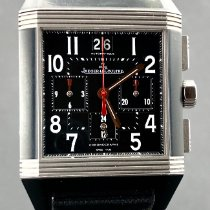 Jaeger-LeCoultre Reverso Squadra Chronograph GMT Staal