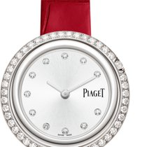 Piaget White gold Quartz Silver 34mm new Possession