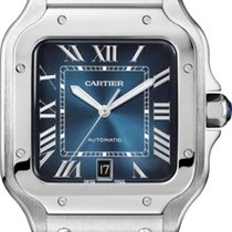 Cartier new Automatic Center Seconds Luminescent Hands Only Original Parts 39.8mm Steel Sapphire Glass