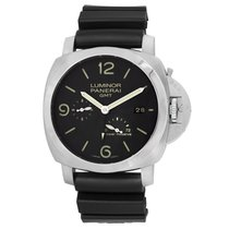 Panerai Luminor 1950 3 Days GMT Power Reserve Automatic Zeljezo 44mm Crn