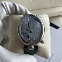 Breguet Reine de Naples Steel 35.5mm Mother of pearl Arabic numerals United Kingdom, London