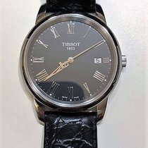 Tissot Classic Dream Stål 38mm Sort Ingen tal