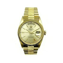 Rolex Day-Date Yellow gold 36mm Gold No numerals