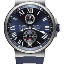 Ulysse Nardin Marine Chronometer Manufacture 1183-122-3/43 2019 new