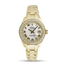 Rolex Lady-Datejust Pearlmaster 29mm Madreperla Romanos
