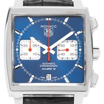 TAG Heuer CAW2111.FC6183 Steel 2019 Monaco Calibre 12 39mm pre-owned
