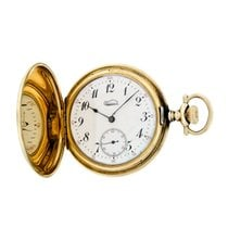 Gruen Watch pre-owned 1940 Yellow gold 48.2mm Arabic numerals Manual winding Watch only