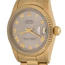 Rolex Gelbgold 30mm Automatik 68278 gebraucht