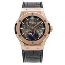 Hublot Classic Fusion Aerofusion Moonphase King Gold 42 mm