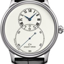 Jaquet-Droz Grande Seconde White gold 39mm Champagne United States of America, New York, Airmont