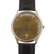 Jaeger-LeCoultre Master Ultra Thin Date Stahl 40mm Bronze Keine Ziffern