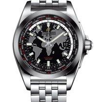 Breitling Galactic Unitime neu 2020 Automatik Uhr mit Original-Box und Original-Papieren WB3510U4/BD94/375A
