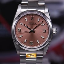 Rolex Oyster Perpetual 31mm Boysize Salmon Dial Stainless...